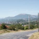 Vista sulla formazione rocciosa di Manteyer-Romette- Davide Curatola Soprana
