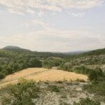 Campi coltivati tra le rocce-Forcalquier-Les Tourettes-Alessandro Guida