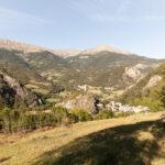 Vista sull'antico villaggio di Méolans. Méolans-Revel. Isabella Sassi Farìas