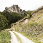 Consolidamento della strada verso La Valliera -Castelmagno- Isabella Sassi Farìas