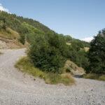 La strada verso le Ravin de Fortunel. Méolans-Revel. Fortunel. Davide Curatola Soprana