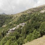 Vue sur Borgata Valliera. Castelmagno. Isabella Sassi Farìas