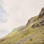 Le versant de la montagne. Roche Rastelli: vers le lac de Luca.+ 2100 m altitude. Alessandro Guida