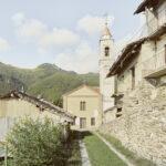 Vue de l'hameau. Rittana. Gorrè. Alessandro Guida