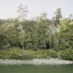Vue sur la fleuve Tanaro. Cigliè. Alessandro Guida