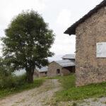 L'entrée à la Borgata Paraloup. Rittana. Isabella Sassi Farìas