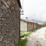 Les rues dans l'hameau Sant'Antonio. Ostana. Sant'Antonio. Isabella Sassi Farìas