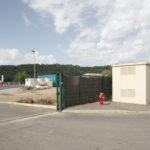 Équipements publics du Centre de récolte des ordures dans le terrain industriel. Forcalquier. Davide Curatola Soprana.