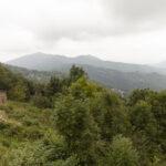 Vue sur le paysage dès la Borgata Paraloup. Rittana. Isabella Sassi Farìas