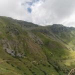 Le nouveau chemin vers les pâturages à haute altitude. Castelmagno. Borgata Valliera.  Davide Curatola Soprana