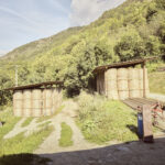 Grange à foin. Sampeyre. Roccia Villaretto. 1100 m altitude. Alessandro Guida