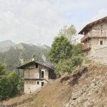 Maison qui a été rémise en valeur. Castelmagno. Borgata Campofei. Alessandro Guida