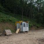 Équipments pour les travaux de la route. Rittana. Borgata Paraloup. Davide Curatola Soprana